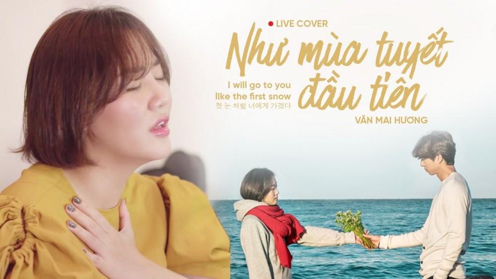 Lời bài hát Như Mùa Tuyết Đầu Tiên [Văn Mai Hương] [Lyrics Kèm Hợp Âm]
