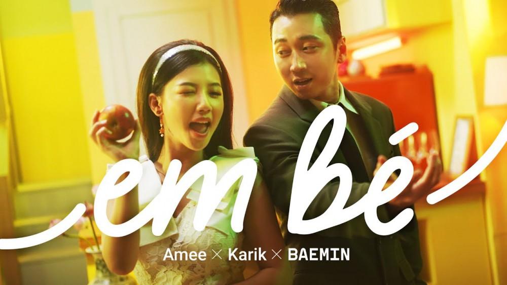 Lời bài hát Em Bé [AMEE x Karik x Baemin] [Lyrics và Hợp Âm]