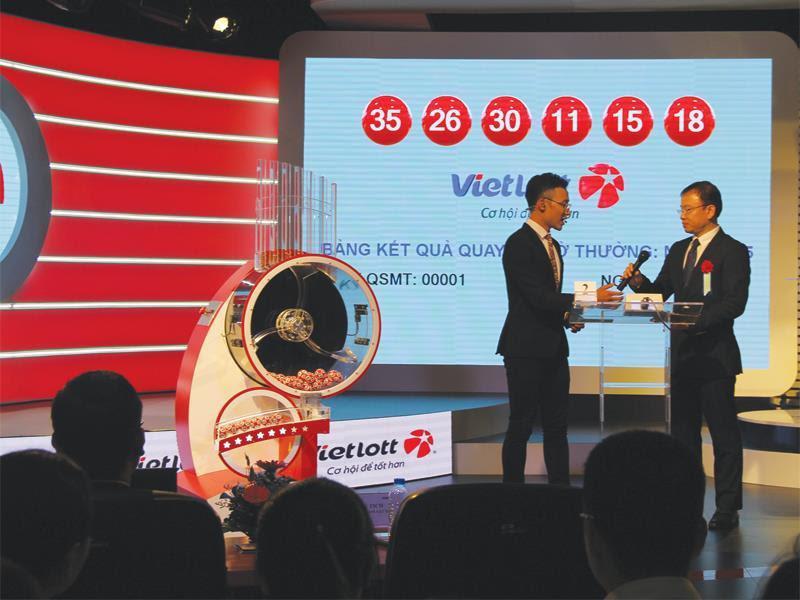Xổ số Vietlott được mở thưởng liên tục hàng ngày