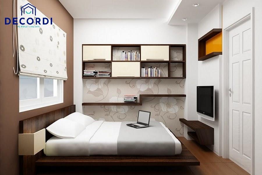 Thiết kế nội thất phòng ngủ 6m2 tiện nghi và hiện đại