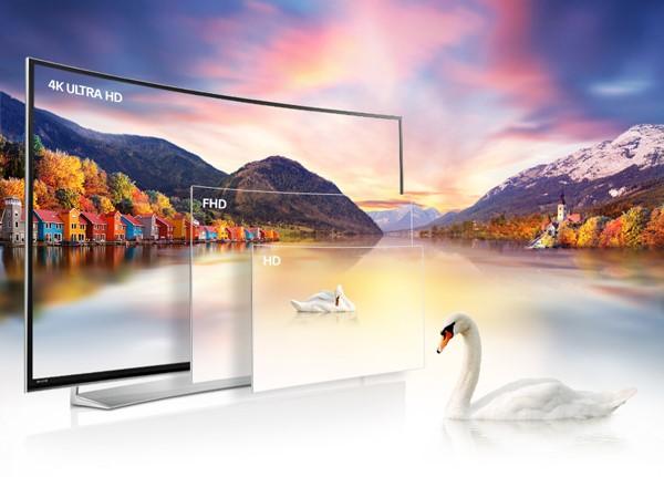 Sự khác nhau giữa Tivi 4K với Tivi Full HD và Tivi HD