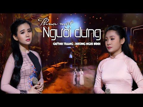 Thua Một Người Dưng - Quỳnh Trang & Dương Nghi Đình (Official MV) - YouTube
